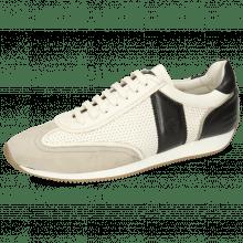 Sneakersy Rocky 2 Oily Suede Off White Flex Perfo White Imola Black