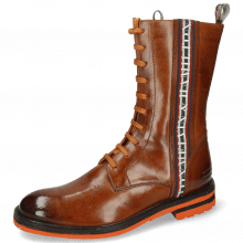 Botki Trevor 27 Wood Sherling Mustard Stripe