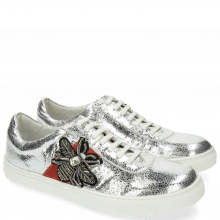 Sneakersy Jean 3 Metal Silver Bee