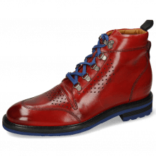 Botki Trevor 5 Red Laces Blue