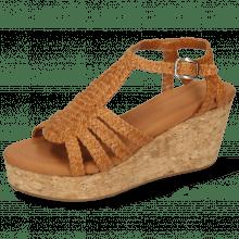 Sandały Hanna 55 Woven Hazel Cork