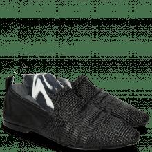 Mokasyny Hailey 1 Mignon Black Glove Nappa