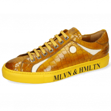 Sneakersy Harvey 9 Crock Yellow Vegas White