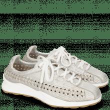 Sneakersy Nelli 1 Rinca Metal Silver