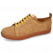Sneakersy Amber 1 Sheep Suede Camel
