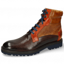 Botki Trevor 25 Guana Mid Brown Winter Orange