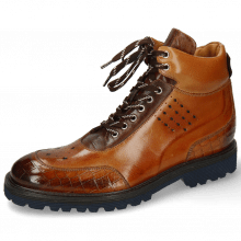 Botki Trevor 28 Crock Cognac Mid Brown Navy