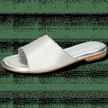 Mule Hanna 5 Plain Silver