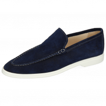 Mokasyny Adley 1 Suede Navy Stiching