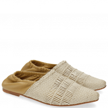 Mokasyny Joolie 12 Mesh Nappa Pearlized Cashmere
