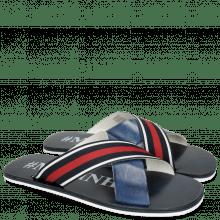 Sandały Sam 5 Marine Strap Red Blue