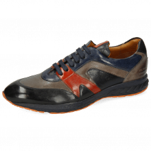 Sneakersy Blair 9 Imola Black Navy Sweet Heart Nappa Glove Grey