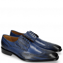 Derby Albert 2 Saphir Rivets Lines Navy