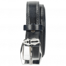 Paski Linda 1 Navy Sword Buckle