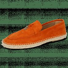 Mokasyny Sandro 3 Oily Suede Orange Strap