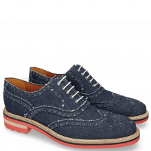 Oksfordy Trevor 1 Denim Dark Blue