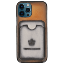 Etui iPhone Twelve Pro Vegas Rich Tan Wallet Oxygen