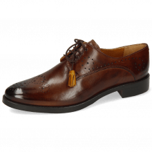 Derby Betty 2 Mid Brown Tassel Indy Yellow