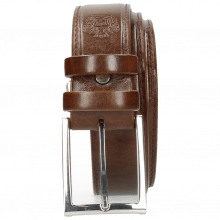 Paski Larry 1 Wood Classic Buckle