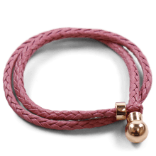 Bransoletki Caro 2 Woven Rose Gold Accessory Rose Gold