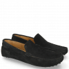 Mokasyny Nelson 1 Suede Pattini Black