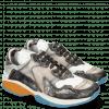 Sneakersy Flo 1 Hairon Silver Stone Milled White Black