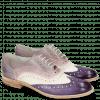 Oksfordki Amelie 10 Vegas Violet White Light Purple Pale Lila