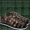 Sandały Sam 3 Classic Dark Brown