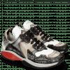 Sneakersy Flo 1 Hairon Silver Stone Milled White Black Cherso