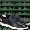 Sneakersy Newton 1 Franky Perfo Navy Tongue Lycra Navy