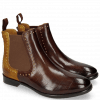 Botki Daisy 6 Turtle Mid Brown Sun Rivets