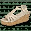 Sandały Hanna 55 Woven Pearl Cork