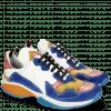 Sneakersy Kobe 1 Suede Pattini Chine Sun Red Nappa White
