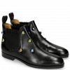 Botki Susan 10 Black Resin Bubbles