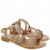 Sandały Sandra 28 Woven Mesh Rame