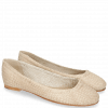 Baleriny Kate 5 Woven Off White Natural