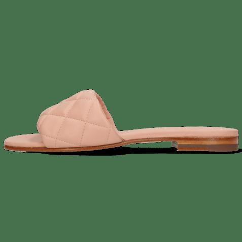 Mule Elodie 37 Nappa Rose Footbed