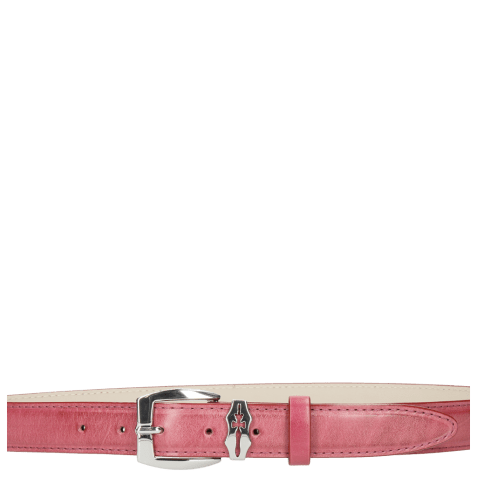 Paski Linda 1 Dark Pink Sword Buckle