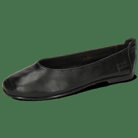 Baleriny Iris 9 Nappa Black Flex