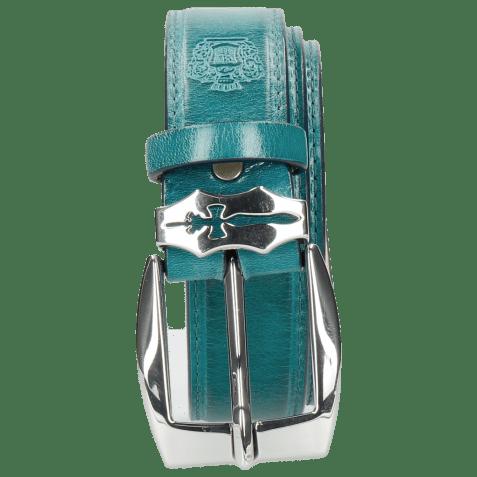 Paski Larry 1 Turquoise Sword Buckle