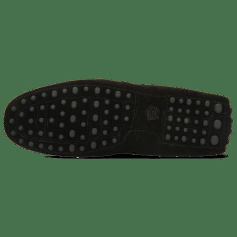 Mokasyny Nelson 1 Suede Pattini Black Dots