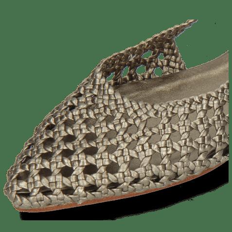 Sandały Alexa 27 Open Weave Pewter