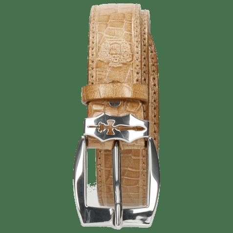 Paski Larry 1 Crock Cashmere Sword Buckle