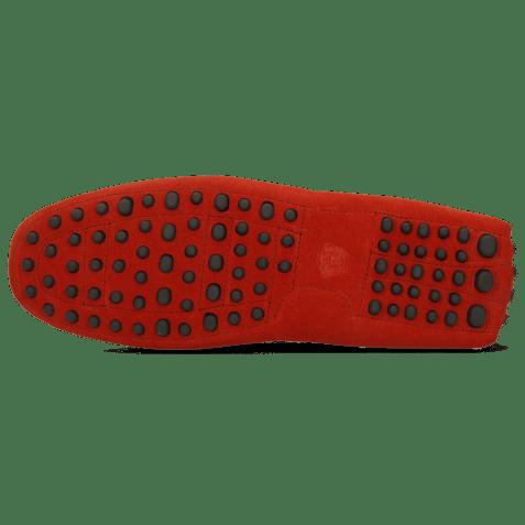 Mokasyny Nelson 1 Suede Pattini Pompei Dots
