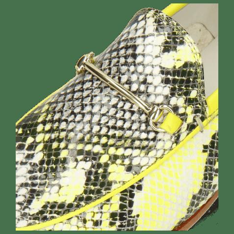 Mokasyny Scarlett 1  Snake King Multi Sol