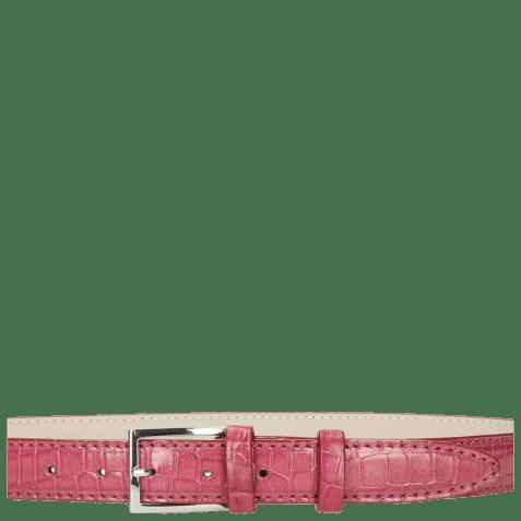 Paski Linda 1 Crock Dark Pink Classic Buckle