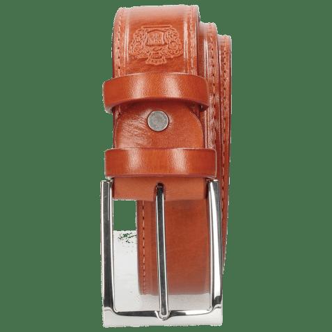 Paski Larry 1 Winter Orange Classic Buckle