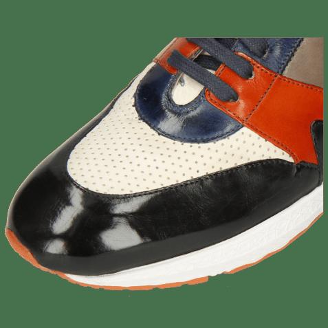 Sneakersy Blair 9 Imola Black Navy Sweet Heart Stone Perfo White