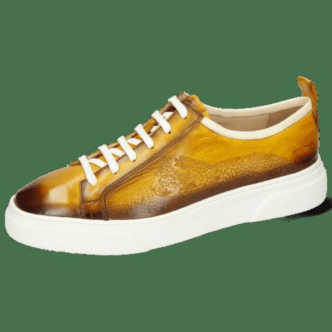 Sneakersy Harvey 21 Vegas Ocra Shade Dark Brown