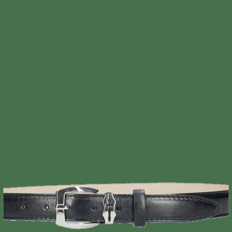 Paski Linda 1 Navy Sword Buckle